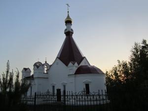 Храм на Южном кладбище Ижевска