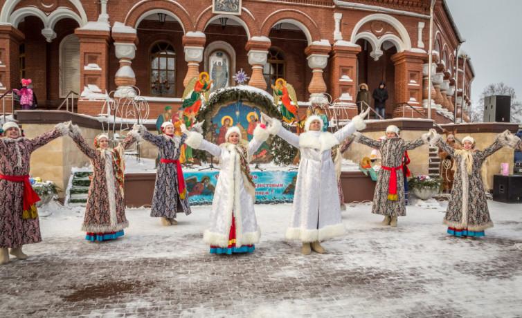 Рождественские народные гуляния