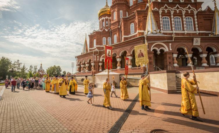 День крещения Руси в Михайловском соборе