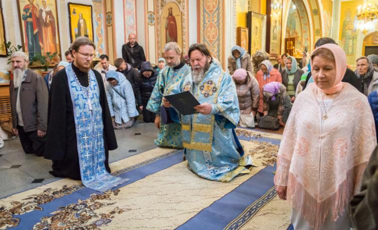 Празднование в честь Владимирской иконы Пресвятой Богородицы